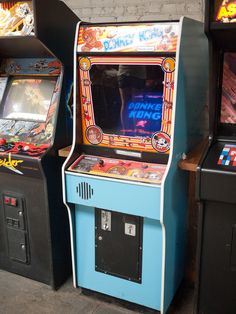 Donkey Kong cabinet /by Hal Hex #flickr #retro #arcade #videogame