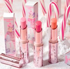 Tinted Lip Balm, Lip Tint, Candy Land, Colourpop Cosmetics, Makeup Cosmetics, Pastel Eyeshadow Palette, Sephora, Candy Castle, Pastel Makeup