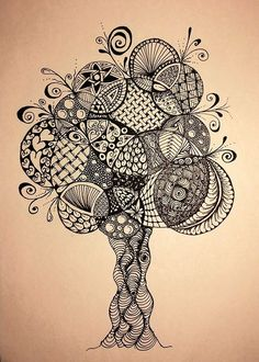 Doodle tree   Siân Thomas   Flickr