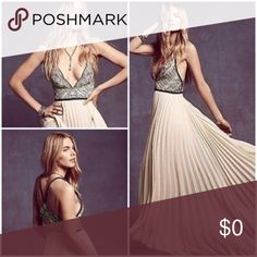 ISO FREE PEOPLE BELLE OF THE BALL MAXI Hey my senior prom is coming up and I've been wanting this since last year but it's sold out everywhere in stores, online, and also on posh. If anyone has this dress and and willing to sell it please let me know! Or if you see on on posh please tag the seller in the comments! Thank you for your help Free People Dresses Maxi