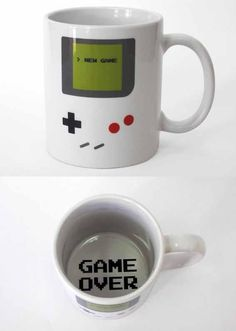 Game Boy mug. DO WANT!!!