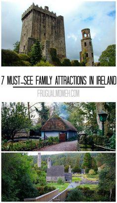 Ireland is, perhaps, the greatest country in the world for a family vacation. Travel in Ireland take in these 7 Must-See Family Attractions!