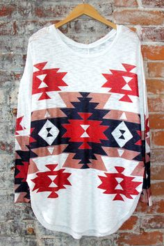 Aztec Tunic | UOIOnline.com: Women's Clothing Boutique