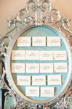 planche inspiration mariage ivoire bleu ciel déco plan de table baroque original style me pretty  Carnet d'inspiration Mademoiselle Cereza mariage bleu ciel, ivoire, blanc