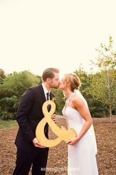 Get an & for your wedding photos!