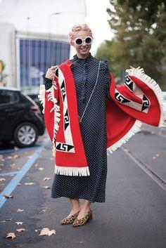 Milan Fashion Week SS17 Street Style: Day 1- ellemag