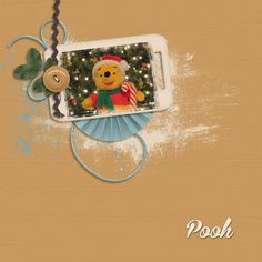 Pooh, created by justpennies@yahoo.com using Pixel Club Kit, A New Me