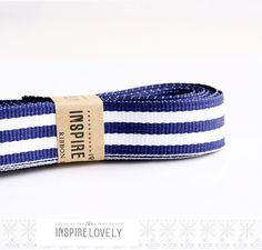 Lovely ribbon, especially good for adding a Cornish/ nautical touch Navy Stripes, Navy Blue, Blue And White, Mixed Media Scrapbooking, Looking Gorgeous, Beautiful, Grosgrain Ribbon, Fashion Art, Wedding Jewelry