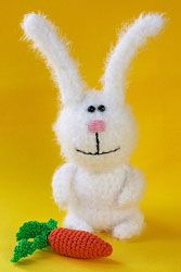 Amigurumi Bunny with Carrot - FREE Crochet Pattern / Tutorial