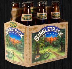 Quite possibly the most appropriate beer for the Singletracks writers. Photo by: Boulder Beer