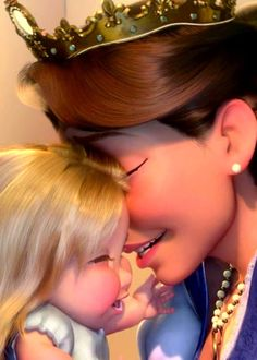 Tangled. Aww, sad that punzel didn't get to grow up with her mom