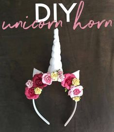 Diy Unicorn Horn Headband Diy Unicorn Horns Diy Unicorn How To Make A Unicorn Horn Headband Using Felt And Dollar Store Diy Unicorn Horn Headbands Steemit Diy Unicorn Headbands Extreme Couponing Mom Diy Unicorn Headband… Diy Unicorn Horns, Diy Unicorn Headband, Unicorn Halloween Costume, Diy Headband, Halloween Diy, Unicorn Crafts, Headbands, Halloween Costumes, Unicorn Birthday Parties