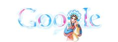 This was Google's Doodle on the 22nd of October 2009.  I am much surprised and honoured to know that the great Chinese Opera actor, Mei Lanfang, shares the same birthday as me.