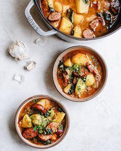 Easy Smoked Sausage Potato Soup