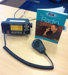 Spent the day at Brockenhurst College with some really bright young marine apprentices doing their Marine Short Range Certificate on Icom radios.  The picture of the IC-M603 on the book cover is nice!