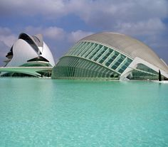 City of the Arts and the Sciences. Valencia, Spain