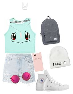 """""""Untitled #32"""" by anusharao on Polyvore featuring Ksubi, Converse, Herschel Supply Co., Wet Seal, Matthew Williamson and Kate Spade"""