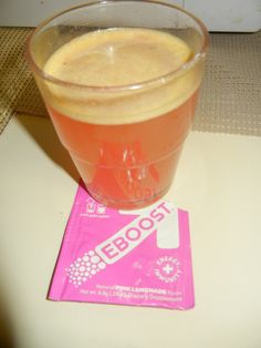 EBoost for fitness and refreshing your body.