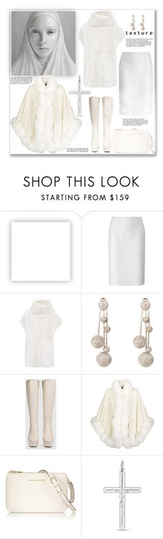 """""""Texture"""" by fassionista ❤ liked on Polyvore featuring Olsenboye, Lucas Nascimento, Joseph, Latelita, Gucci, Harrods, MICHAEL Michael Kors, Leather, WhiteOnWhite and fashionset"""