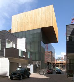 Futuristic Architecture Concept: Museum of Contemporary Art Denver in Denver