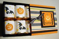 Halloween Frights matchbox