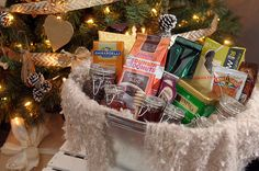 "DIY ""Get Cozy"" Gift Basket"