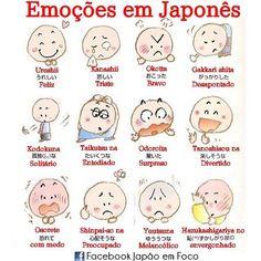 Emoções em japonês