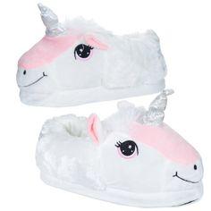 Children's+Unicorn+Pair+of+Unisex+Slippers