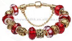 conjunto europeo estilo Pandora plata encanto pulseras de perlas de joyería-Joyería Plata-Identificación del producto:300000055462-spanish.a...