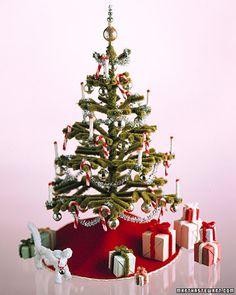 5x//set Dollhouse Miniature Christmas Tree Garden Ornament Landscape Decoratio BE