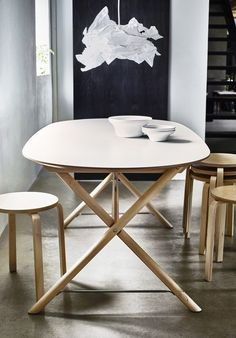 New table from Ikea