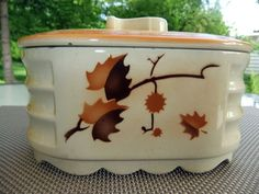 Keramik Art Decó Spritzdekor Keksdose Gebäckdose Rar 20/30 er Jahre   eBay
