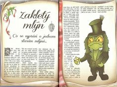 Zakletý mlýn Fairy Tales, Diy And Crafts, Baseball Cards, Cover, Books, Libros, Book, Fairytail, Adventure Movies