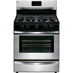 Kenmore 73433 4.2 cu. ft. Freestanding Gas Range in Stainless Steel, includes delivery and hookup (Available in select cities only)