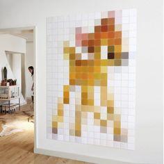 Pixel wanddecoratie Ixxi bambi | Musthaves verzendt gratis