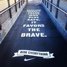 Risk Everything #Nike #Soccer