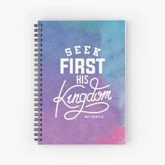 Promote | Redbubble Matthew 6 33, Notebooks, Promotion, Christian, Notebook, Christians, Laptops