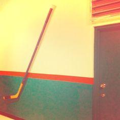 I think I found Tyler Myers' hockey stick.