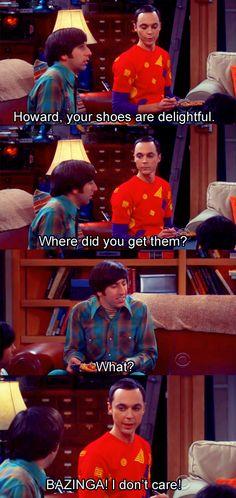 i love the Big Bang Theory