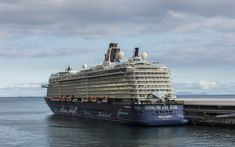 Download wallpapers luxury cruise liner, passenger ship, Mein Schiff 4, huge ship, TUI Cruises