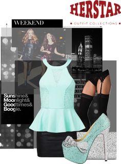 """Tiffany Blue HERSTAR Fashion"" by missmelika on Polyvore"