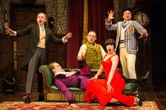 The Play That Goes Wrong at The Duchess Theatre, London