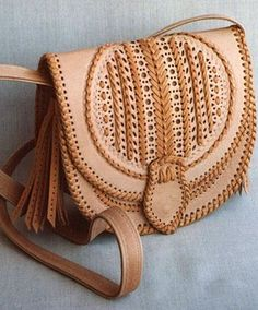 Hutsul leather bag, Ukraine, from Iryna with love