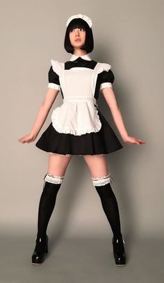 Maid Outfit, Maid Dress, School Girl Outfit, Girl Outfits, Fashion Outfits, Maid Cosplay, Cosplay Outfits, Umibe No Onnanoko, Maid Uniform