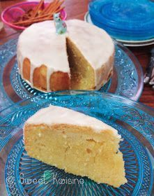 Nantes cake with rum . Easy Cake Recipes, Baking Recipes, Sweet Recipes, Baked Cheesecake Recipe, French Desserts, Dessert Bars, No Cook Meals, Cake Designs, Food And Drink