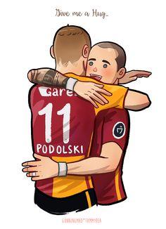 Podolski and Sneijder