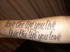 first tattoo 100 Tattoo Quotes You Should Check Before Getting Inked Tattoo Quotes About Life, Good Tattoo Quotes, Life Quotes Love, Quote Life, Word Tattoos, Forearm Tattoos, Picture Tattoos, Tatoos, Quote Tattoos
