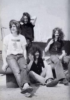 Black Sabbath Wind Black and white Photo shoot Rock N Roll, Rock & Pop, Classic Rock And Roll, God Bless Ozzy Osbourne, Hard Rock, Ozzy Osbourne Black Sabbath, Classic Rock Artists, Geezer Butler, Afro