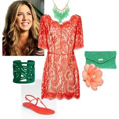 Love these colors for summertime glistening skin. Style Me, Cool Style, Coral Turquoise, Teal, Sartorialist, Classy Casual, Queen, Playing Dress Up, Dress Me Up