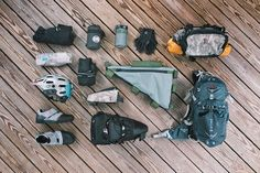 Bikepacking Gear List - Packlist, Framebag, Seat Bag, Handlebar Harness
